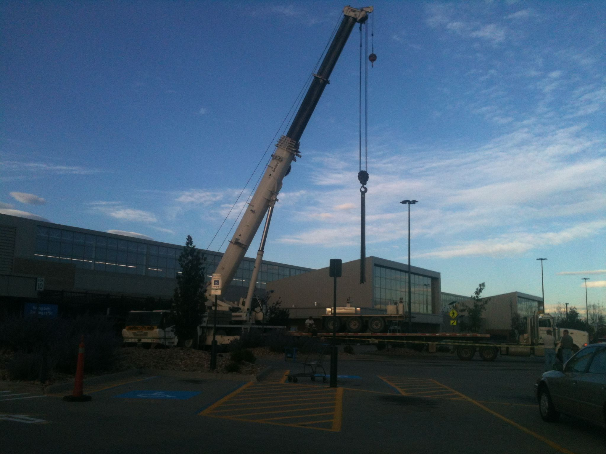 Getting Setup to Fly 15 Ton Units - Walmart in Denver