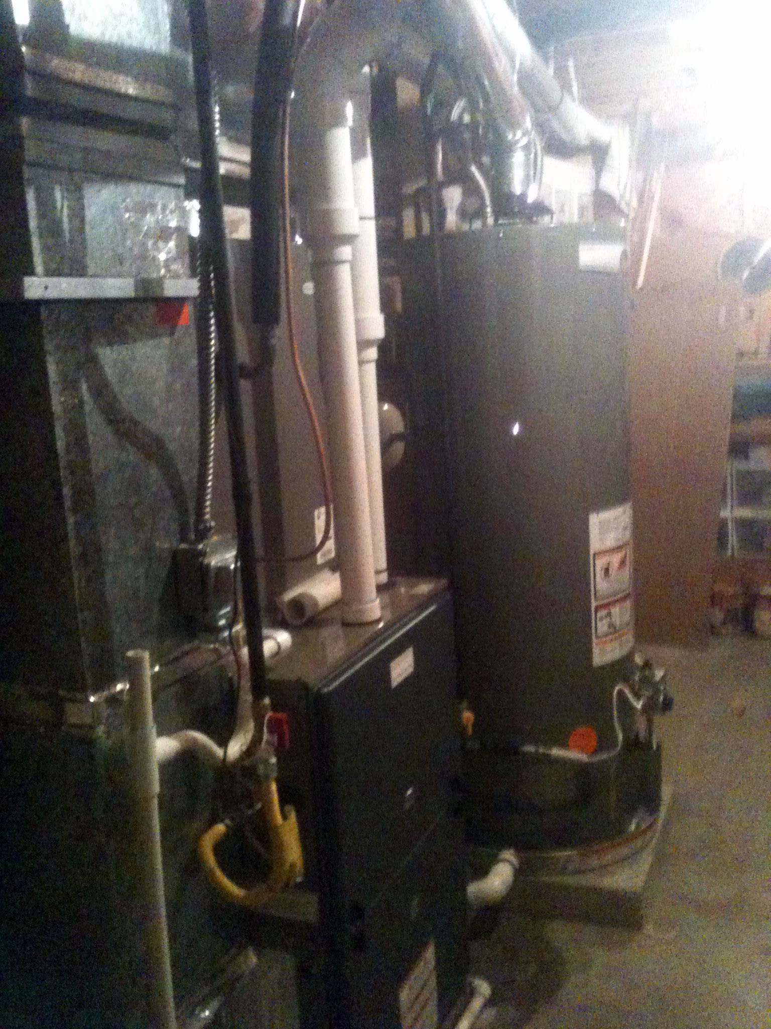 High Efficiency Residential System With Water Heater - Manitou Springs